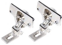 2 X GENUINE Electrolux Integrated Washing Machine Door Hinges 1245378003/TP09466